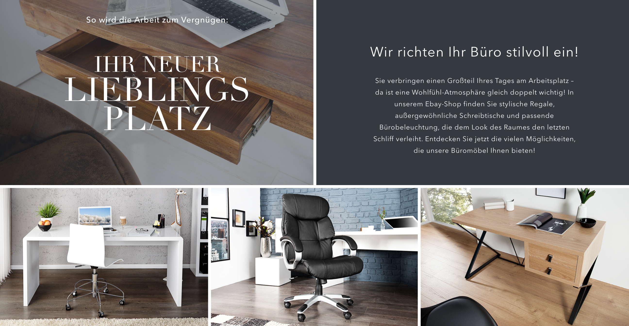 design laptoptisch grey desk 120cm hochglanz grau ebay. Black Bedroom Furniture Sets. Home Design Ideas
