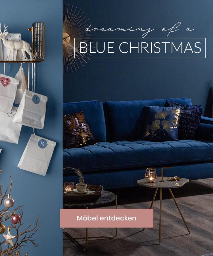 Slide 2 blue christmas