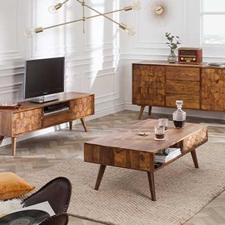 Wohnwelten Retro Möbel
