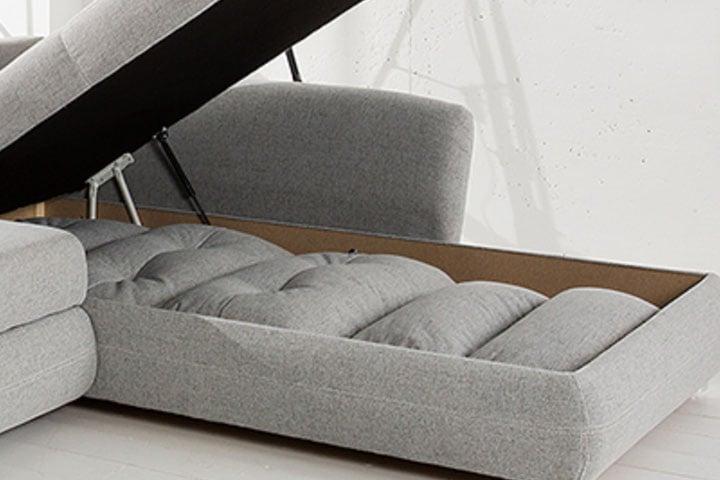 design schlafsofa melbourne anthrazit mit bettkasten cord sofa riess. Black Bedroom Furniture Sets. Home Design Ideas