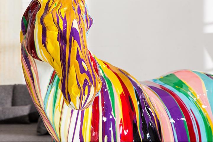 design spardose pop art bulldogge kunstobjekt farbiger. Black Bedroom Furniture Sets. Home Design Ideas