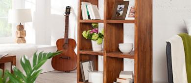massivholzregale preiswert online kaufen riess. Black Bedroom Furniture Sets. Home Design Ideas