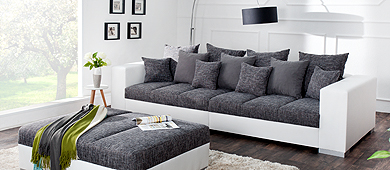 riesige auswahl an g stigen xxl sofas bei riess ambiente riess ambiente onlineshop. Black Bedroom Furniture Sets. Home Design Ideas