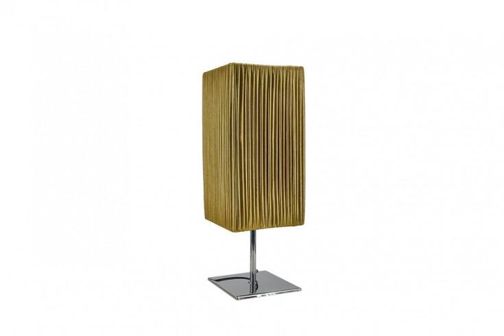 Moderne Designer Tischlampe PARIS 44cm gold Tischleuchte