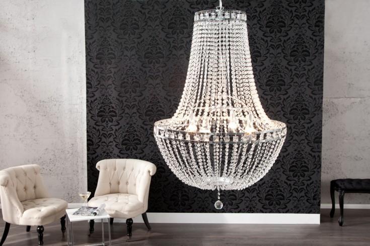 Große exklusive Design Hängeleuchte GLORY Kronleuchter Lüster