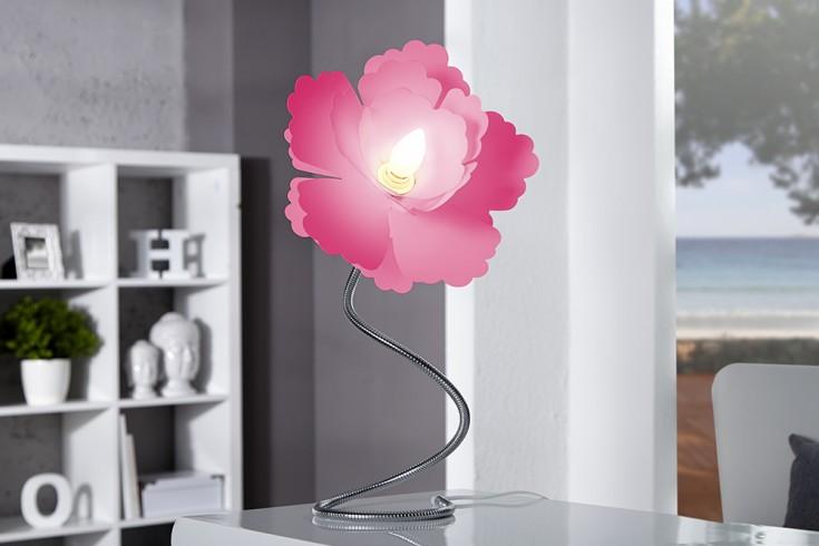 Extravagante Tischleuchte FLORCITA 55cm pink Lampe