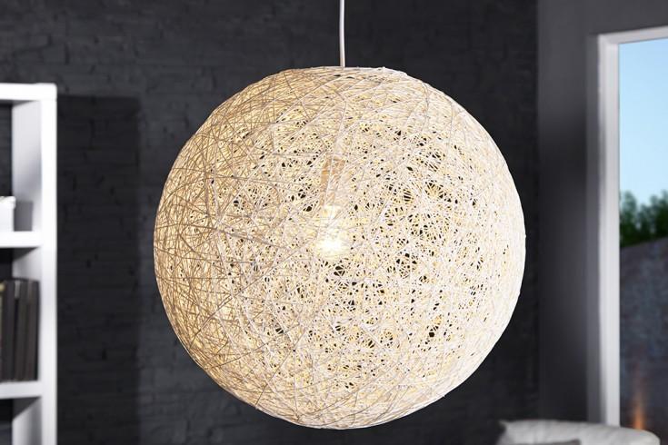h ngeleuchte cocoon xl 60 cm wei riess. Black Bedroom Furniture Sets. Home Design Ideas