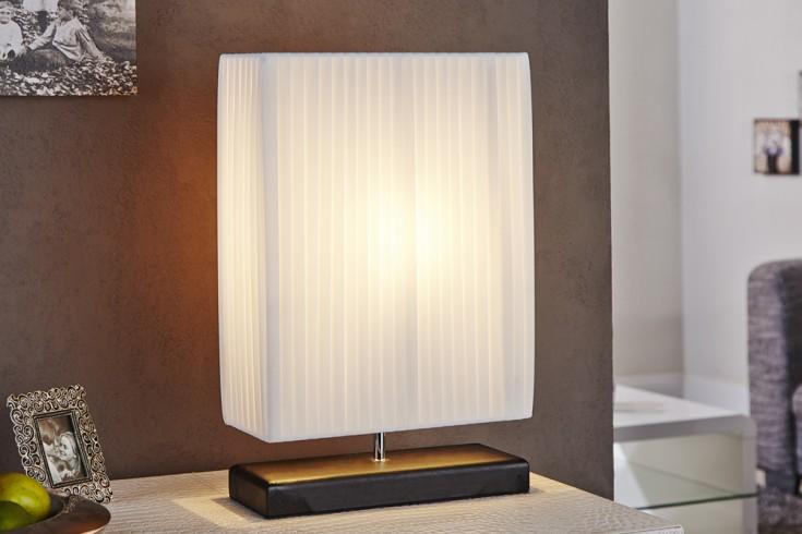 Art-Deco Design Tischlampe ATHENA weiß
