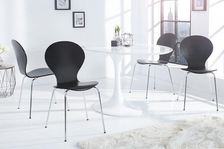 Design stuhl form schwarz riess for Design stuhl form