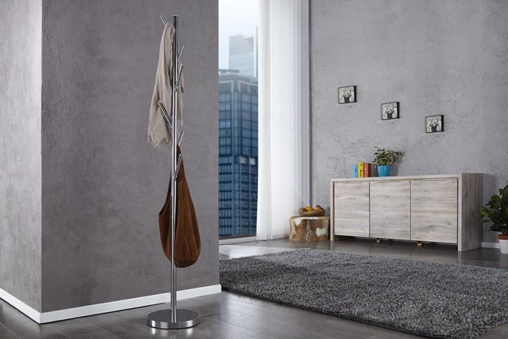 moderner garderobenst nder tree chrom garderobe kleiderst nder riess ambiente onlineshop. Black Bedroom Furniture Sets. Home Design Ideas