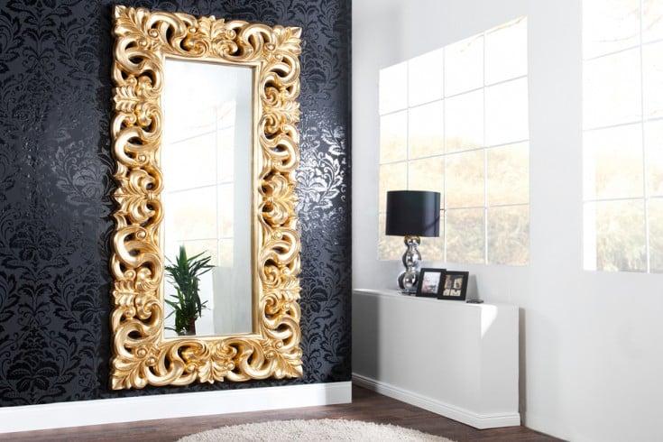 Riesiger Barock Spiegel VENICE  90x180cm gold antik