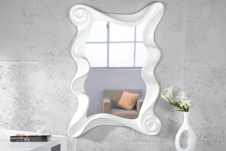 Riesiger Wandspiegel ALICE weiss 160 cm Spiegel Skulptur
