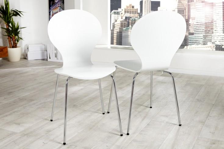 Design Stuhl FORM weiß
