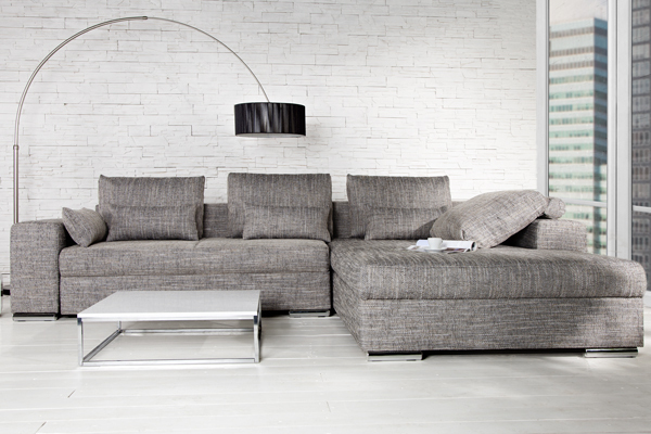 Ecksofa Mit Bettfunktion Anthrazit Riess