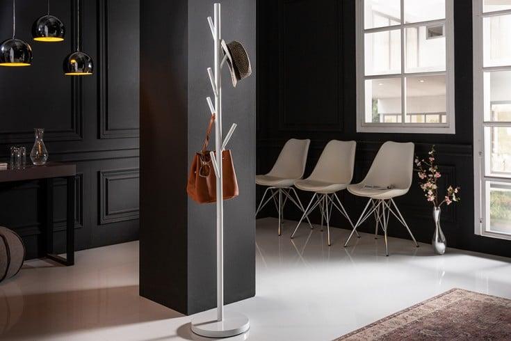 Moderner Garderobenständer TREE 170cm weiß Kleiderständer