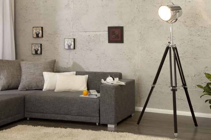 au ergew hnliche spot leuchte hollywood h henverstellbar. Black Bedroom Furniture Sets. Home Design Ideas