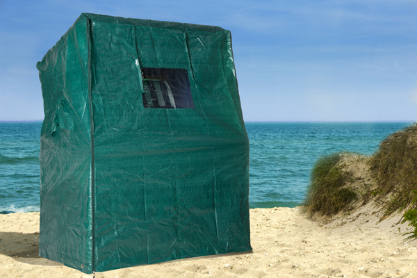 Strandkorbhülle für Strandkorb NORDSEE grün Strandkorbabdeckung