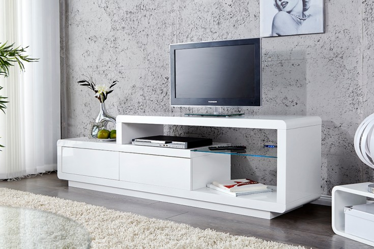 tv lowboard design wei neuesten design. Black Bedroom Furniture Sets. Home Design Ideas