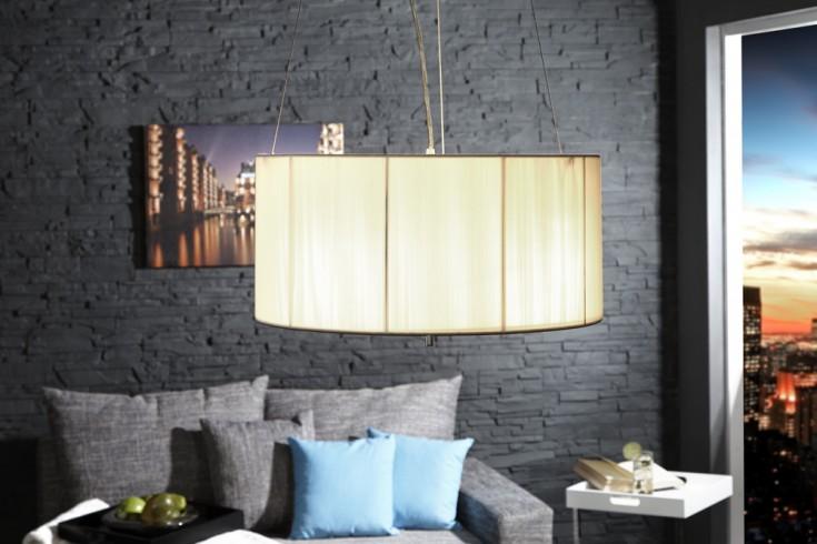 Große Design Hängelampe EXTENSO weiss 50 cm
