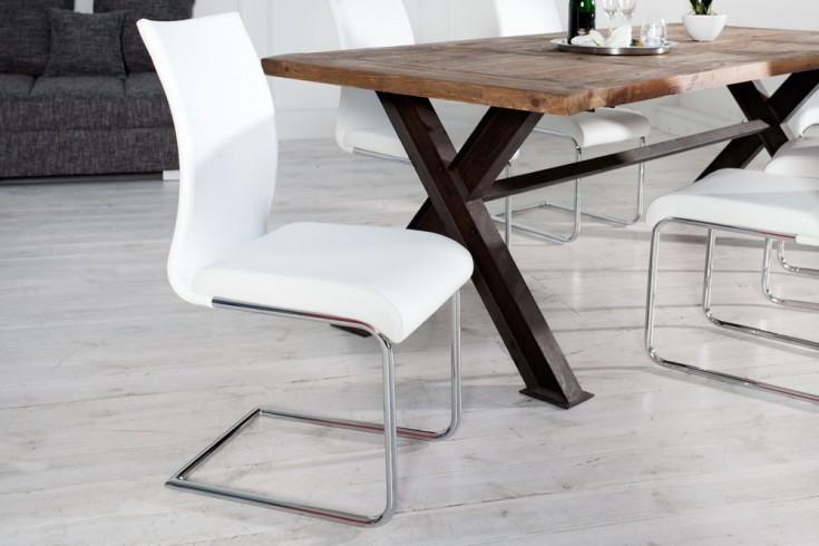 Design freischwinger stuhl suave wei riess for Design stuhl freischwinger piet 30