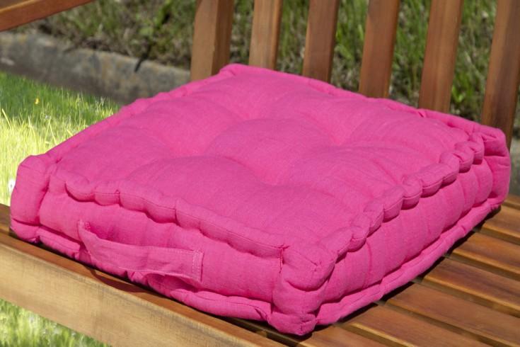 Design Sitzkissen SUN Pink 40x40cm Auflage