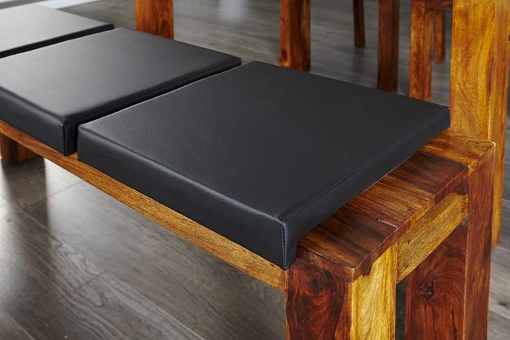 Elegantes Klemmkissen JAM für Sitzbänke schwarz 40 cm