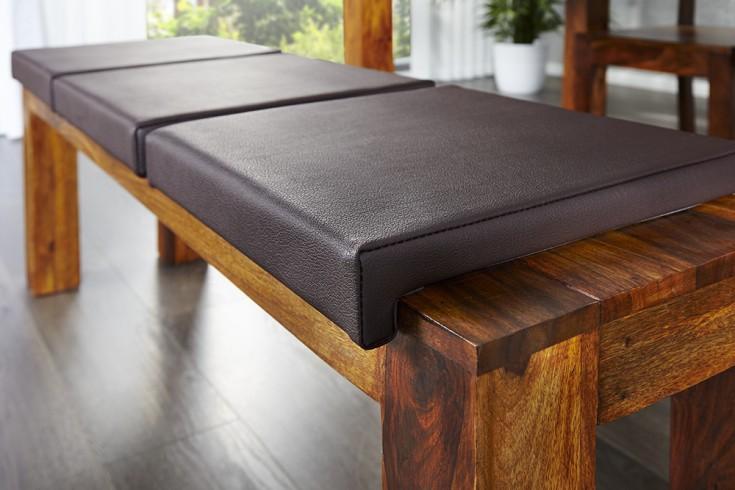 Elegantes Klemmkissen JAM für Sitzbänke braun 40 cm