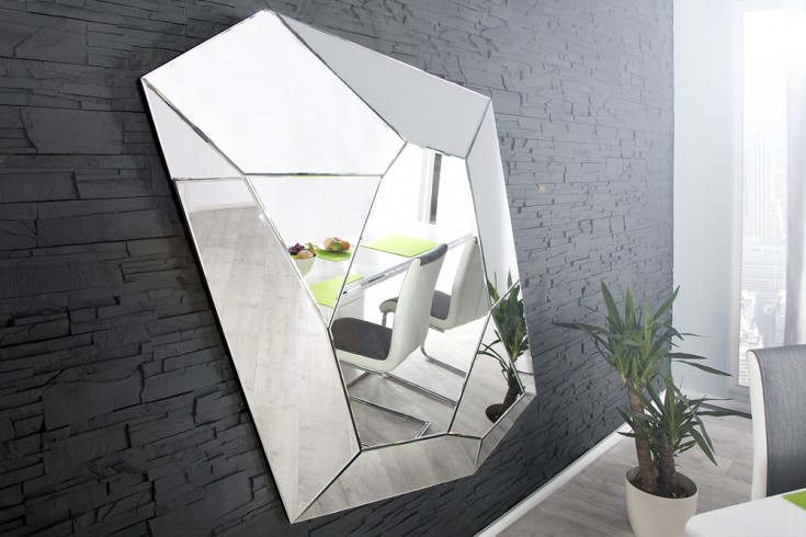 Moderner Design Wandspiegel VISION 165x115cm variabel aufhängbar