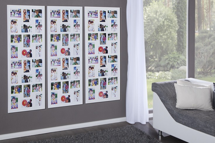 edler holz bilderrahmen image xxl weiss f r 24 fotos. Black Bedroom Furniture Sets. Home Design Ideas