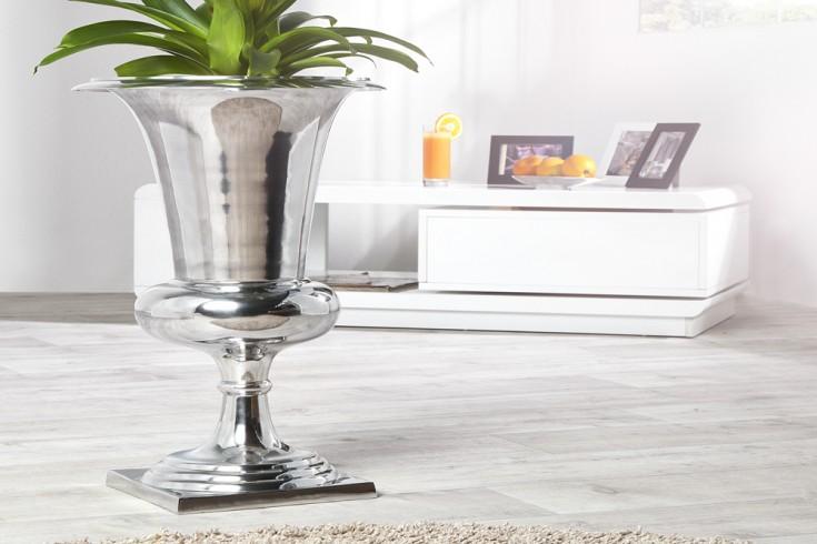 Design Vase GOAL Pflanzen Pokal 60 cm Metall - Aluminium - Legierung