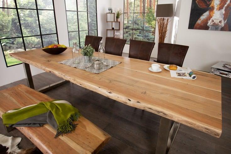 baumstamm tisch mammut cheap esstisch echtholz fantastisch esstische aus massivholz with. Black Bedroom Furniture Sets. Home Design Ideas