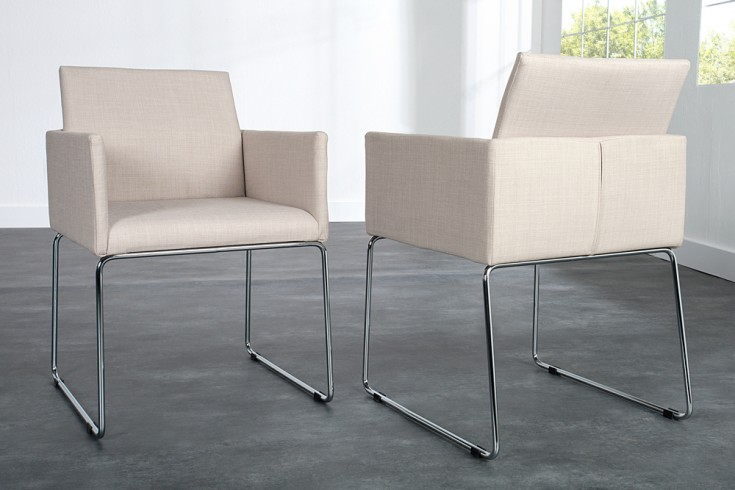 Eleganter design stuhl livorno strukturstoff beige riess for Eleganter design stuhl livorno strukturstoff grau
