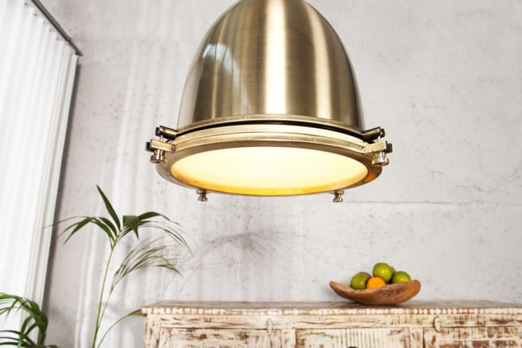 Design Hängelampe INDUSTRIAL bronze 35 cm Industrielampe Designklassiker
