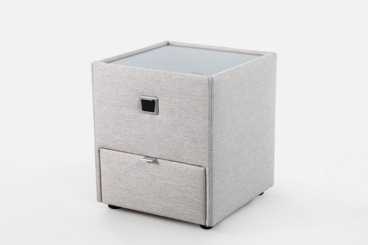 design nachtkommode romantica f r boxspringbetten beige. Black Bedroom Furniture Sets. Home Design Ideas