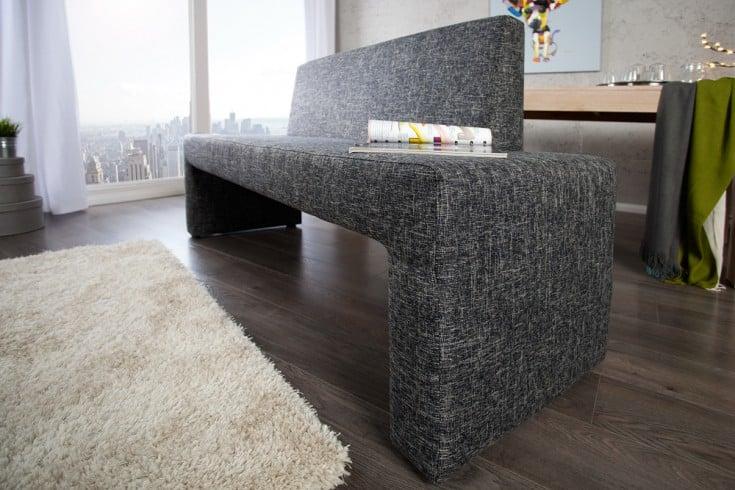 pin bank mit lehne esszimmerbank schwarz new orleans f png. Black Bedroom Furniture Sets. Home Design Ideas