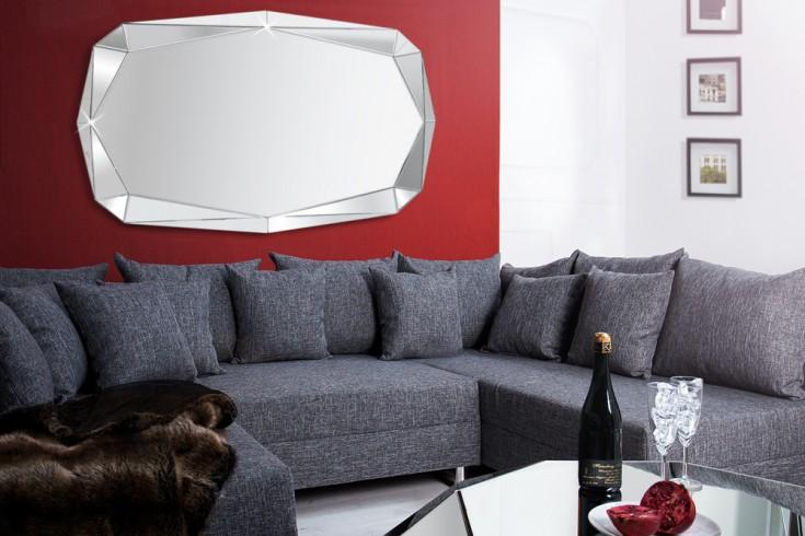 Design Spiegel DIAMOND Facettenschliff Diamant 120 cm