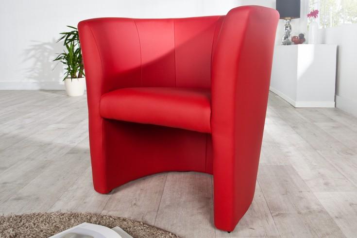 stylischer cocktailsessel art deco rot sessel riess. Black Bedroom Furniture Sets. Home Design Ideas