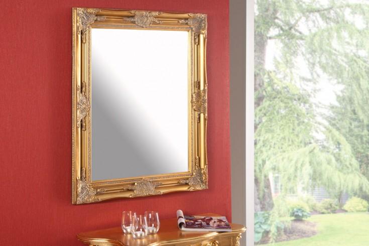 Barock Spiegel RENAISSANCE gold 75cm Wandspiegel
