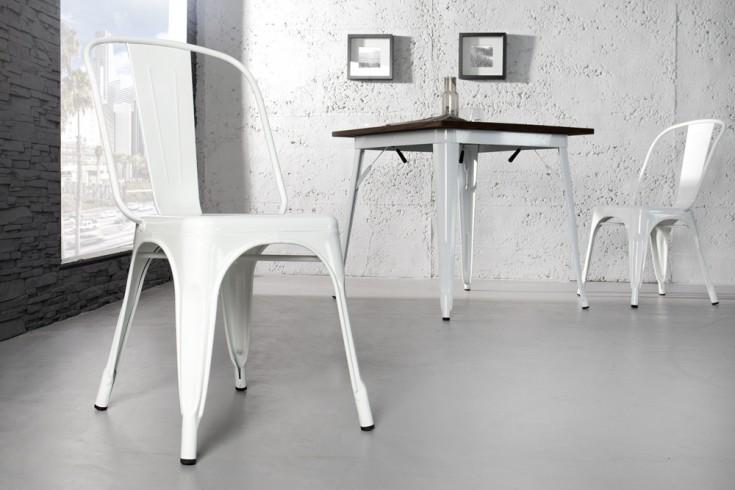 Stylischer design stuhl montmartre wei 85cm for Stuhl industrial design