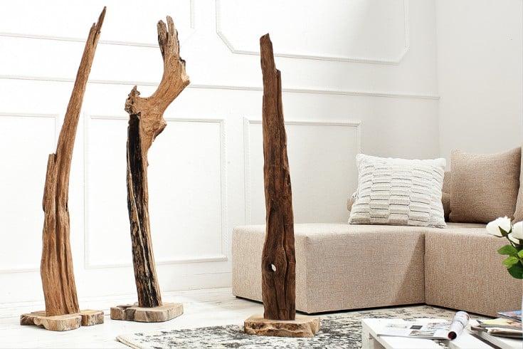Naturbelassene Skulptur REEF 100-125cm aus Treibholz Holz-Accessoire