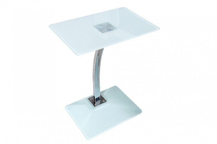 Design tablet laptop butler tisch beistelltisch wei for Design laptoptisch