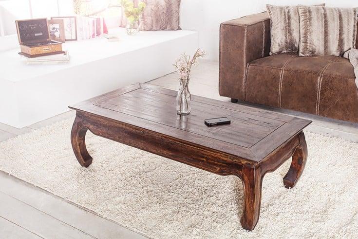 extravaganter opium couchtisch mahagoni shabby chic coffee 120cm riess ambiente onlineshop. Black Bedroom Furniture Sets. Home Design Ideas