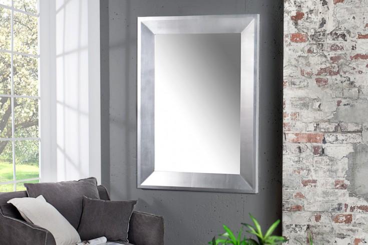 Eleganter Design Spiegel BRILLADO silber 110x90cm
