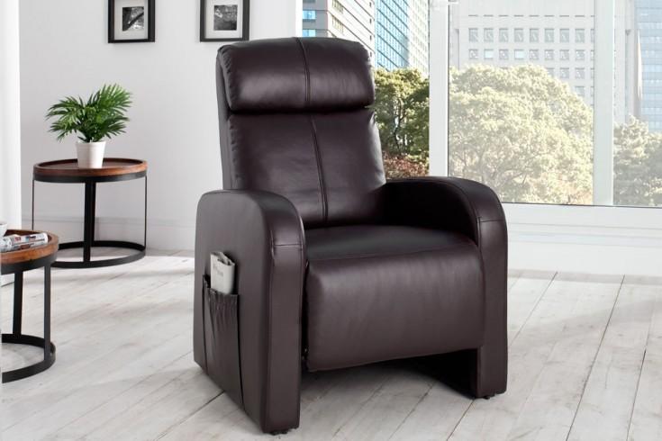 Relaxsessel Mit Liegefunktion Modern ~ Moderner Relaxsessel COSY mit Liegefunktion coffee  Riess Ambiente