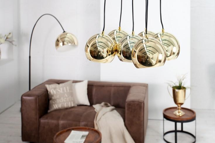 Design Hängelampe PERLOTA XL gold