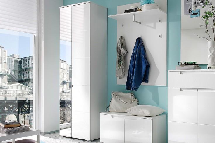 Design Garderobenschrank CLUB 200cm High Gloss