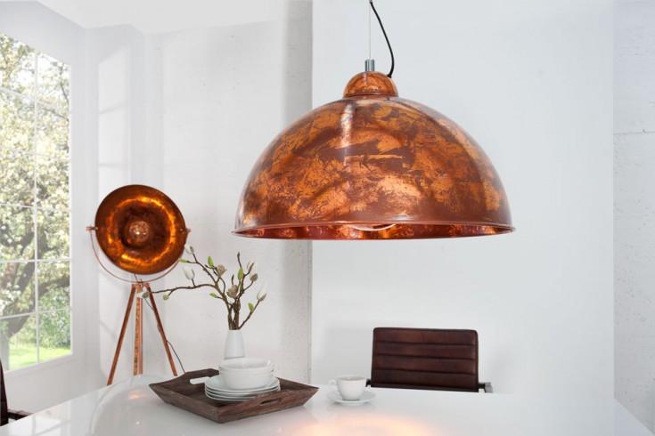 moderne h ngelampe studio kupfer leuchte used look riess. Black Bedroom Furniture Sets. Home Design Ideas