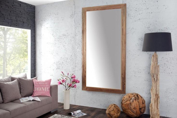 massiver teakholz spiegel frame 200 cm riess ambiente onlineshop. Black Bedroom Furniture Sets. Home Design Ideas