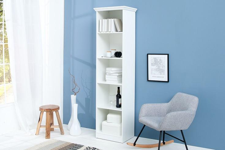 Klassisches Design Regal PROVENCE 200cm weiß im Landhausstil