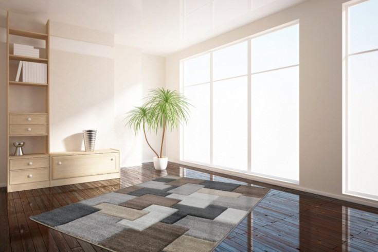 Klassischer Design Teppich TWIST 160x230cm Vintage Optik